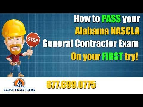 Alabama General Contractor Exam Prep Course 🔨 🔨