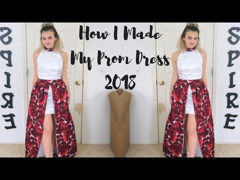 How I Made My Prom Dress 2018!