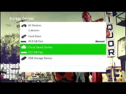 How To Use Xbox 360 USB Flash Drive Storage