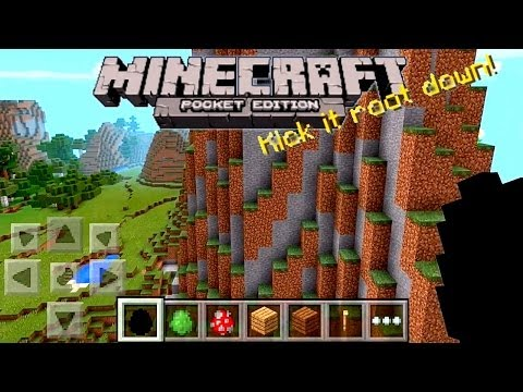 Minecraft Pocket Edition 0.90 Review - Infinite Worlds, Biomes