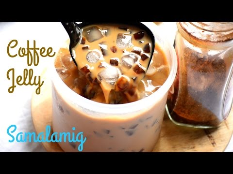 Coffee Jelly SAMALAMIG - The Best Ice-Cold Drink for SUMMER!!! | It's More Fun in the Kitchen