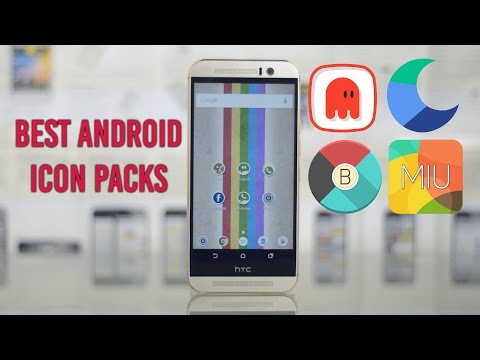 5 Best Android Icon Packs