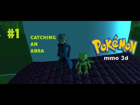 How to catch an abra in Pokemon MMO 3D ? Easiest way and more || Seohelper || beast557