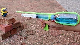 How to Make a Pump Action Water Gun