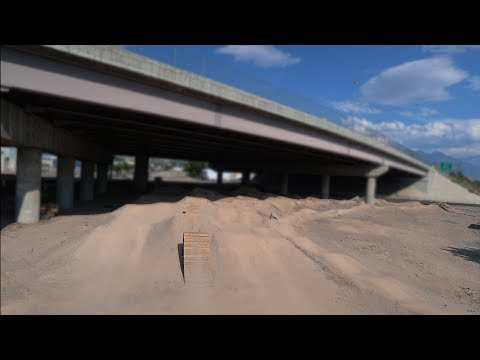 Utah's Underpass Dirt Jumps