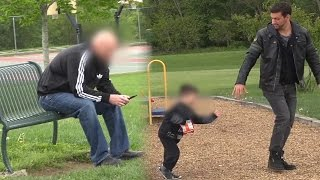 ABDUCTING CHILD IN FRONT OF DAD (Social Experiment)