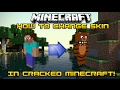How to change skin for cracked minecraft!!!!!(2017)mac and windows both