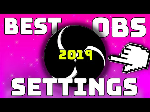 Best OBS Studio Recording Settings For A Bad PC!! Even Laptops! (Works 2018)