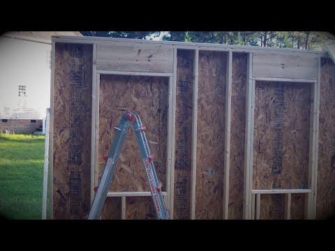 DIY Shed - Part 3a: Walls