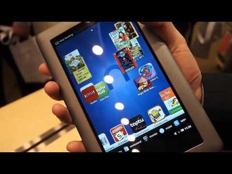 Nook Tablet hands-on - User interface, Netflix integration,