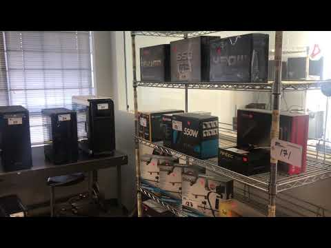 NCIX - special rules for this onsite auction