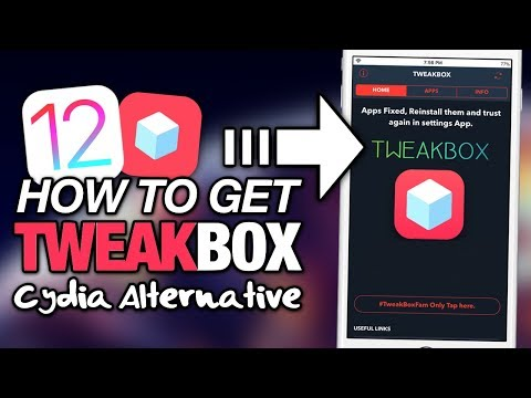 How To Get TWEAKBOX On iOS 12 (NO JAILBREAK) Cydia Apps, ++Apps & Hacked Apps