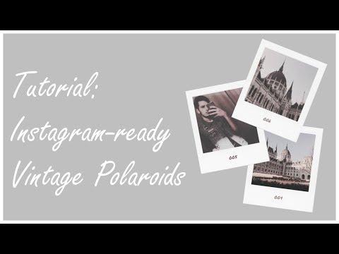 How To Make Polaroid Style Photos For Instagram