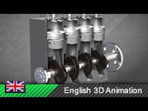 How Diesel Engines Work Animation