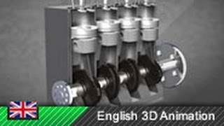How Diesel Engines Work Animation