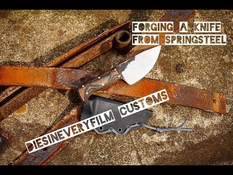Forging a Custom Knife