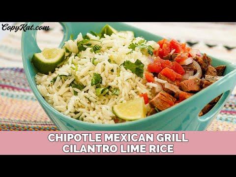 Chipotle's Mexican Grill Basmati and Cilantro Lime Rice