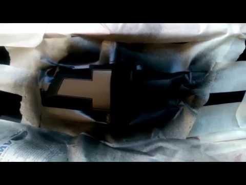 How to Plasti-Dip Your Chevy Camaro Bowtie!