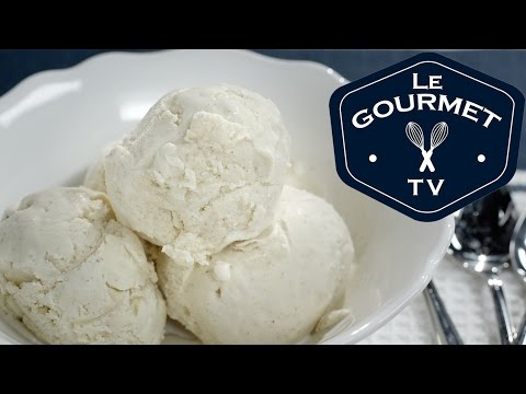 Eggnog Ice Cream Recipe - LeGourmetTV