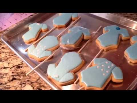 Frozen Elsa Ballerina Outfit Sugar Cookie (How To PART 1)