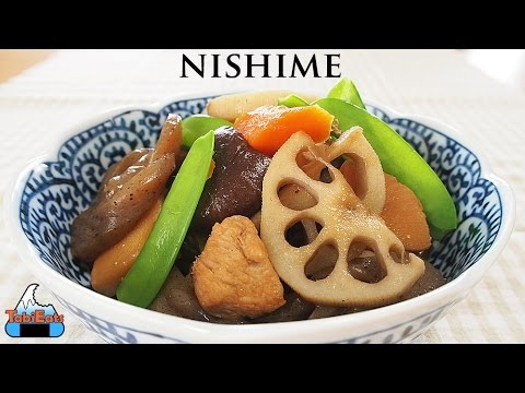 How to Make Nishime (Japanese Simmered Vegetables Recipe)-Cooking with Mom