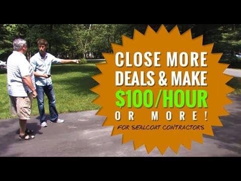 Door to Door Sales to Make More Money (Sealcoating Business)