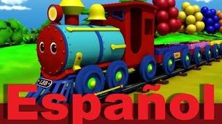 El tren de colores   Canciones infantiles   LittleBabyBum