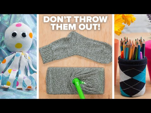 Don't Throw Out Those Single Socks!