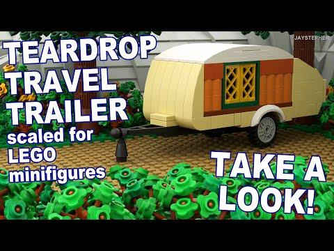Custom Build - Lego Teardrop Travel Trailer