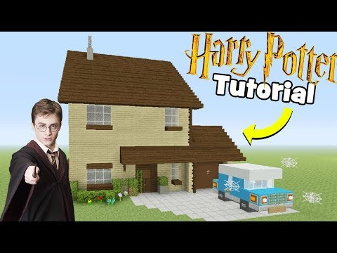 Minecraft Tutorial: How To Make Harry Potters House