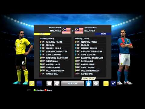 Pro Evolution Soccer 2013 Patch Malaysia by Adam15