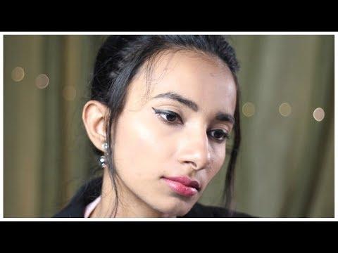 मेकअप के बाद चेहरे पर ग्लो/शाइन दिखाने के लिए यूज़ करें ये | Highlighter Makeup Tutorial for Beginner
