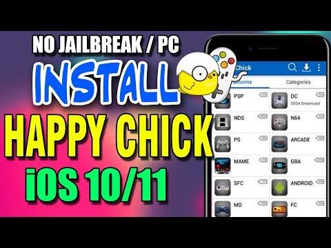 NEW INSTALL Happy Chick iOS 10 - 10.3.3 (No Computer / No Jailbreak)