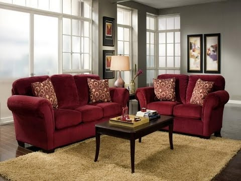 Home Decor Ideas Red Couch