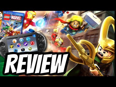 LEGO Marvel Super Heroes: Universe In Peril REVIEW (PS VITA) 2013 GAMEPLAY