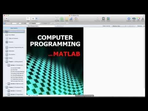 Lesson 1.2 The MATLAB Environment