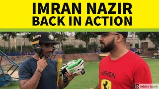 Practice Session With Imran Nazir | Training Hard for Abu Dhabi T10 League | October 2019