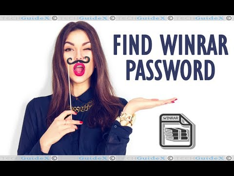 How to Find WinRAR Password Using RAR Password Unlocker?