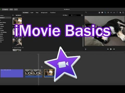 iMovie Basics 10.1.6 and 10.1.8