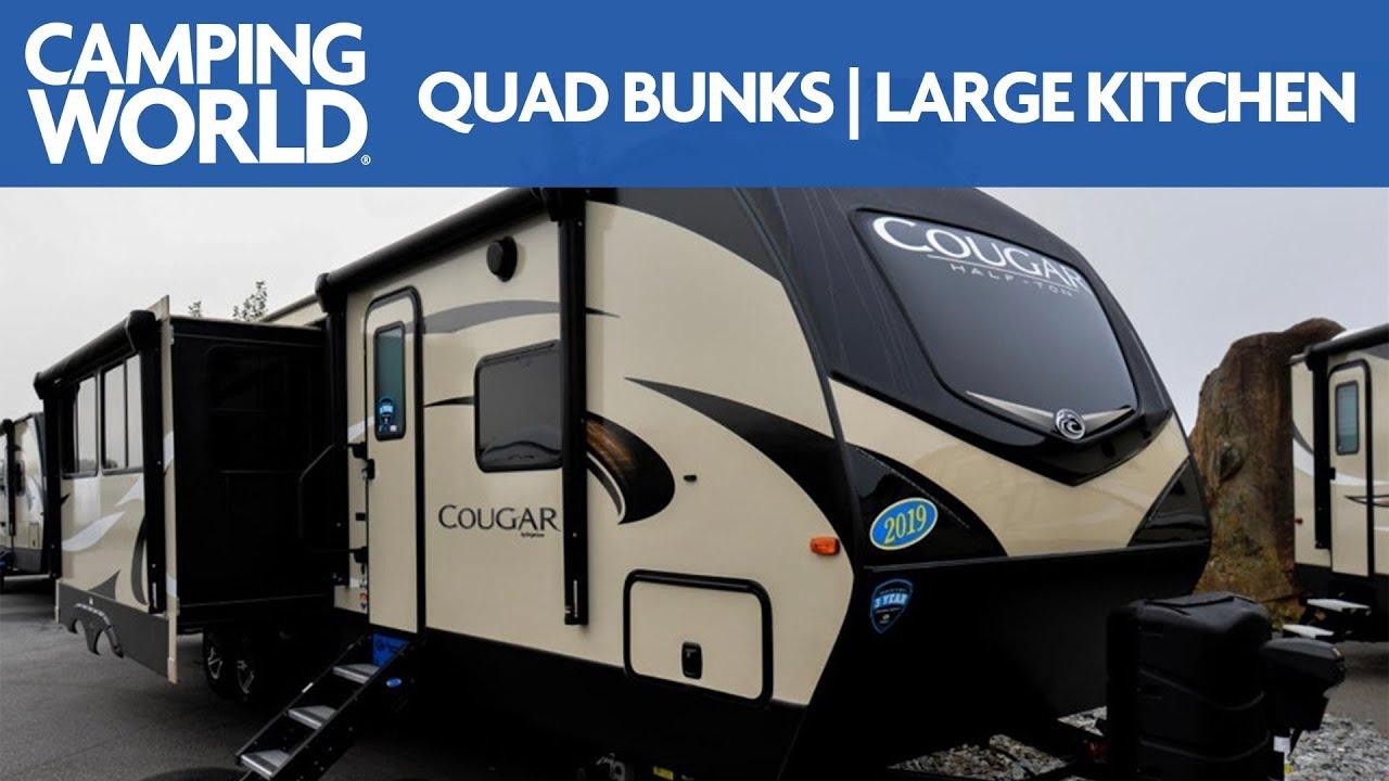 2019 Keystone Cougar 34TSB   Travel Trailer - RV Review: Camping World