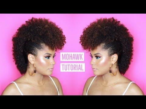 HOW TO: MOHAWK ON NATURAL HAIR | CAMILLE ROSE NATURALS | CURLSFOTHEGIRLS