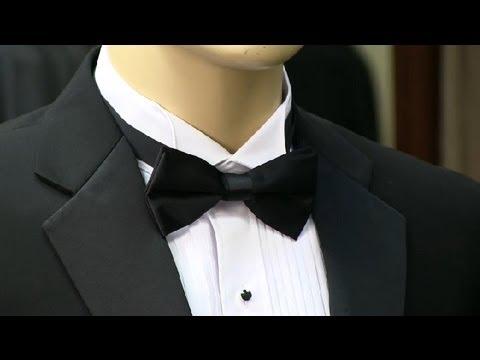 Do You Tuck a Bow Tie Under a Tuxedo Collar? : Men's Formal Fashion