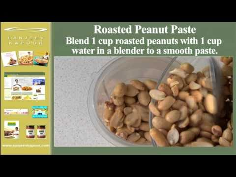 Roasted Peanut Paste