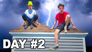 LAST TO LEAVE THE ROOF WINS - Challenge