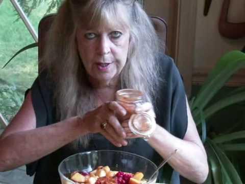 Nectarine-Raspberry Fruit Cocktail Surprise