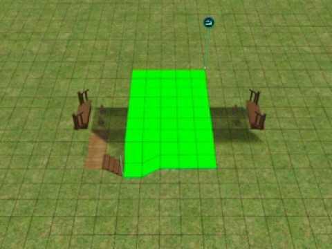 The Sims2 tutorial - Arch Bridge