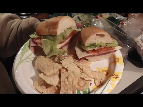 Italian Sub Quick and easy version (Subway BMT)