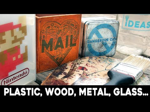 Print + Transfer Photos onto WOOD, METAL, GLASS, PLASTIC, almost anything