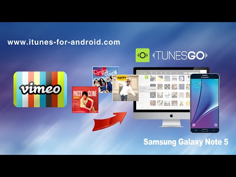 How to Download Music from Vimeo to Samsung Galaxy Note 5 | Note Edge | Note 4 on Mac El Capitan