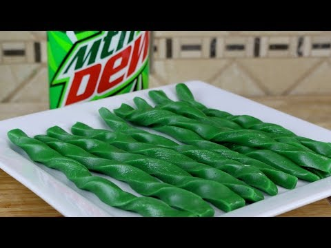 Mountain Dew Twizzlers | DIY Homemade Twizzlers